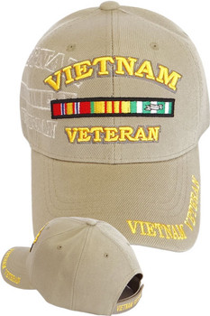 Officially Licensed Military Veteran Caps - U S  Military Hats