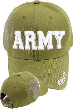 Army Cap - U.S. Army Seal Shadow - Olive 50dfad670836