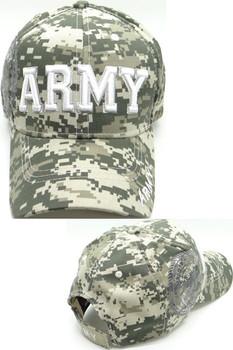 Army Cap - U.S. Army Seal Shadow - ACU Digital Camo b0f714e0a689