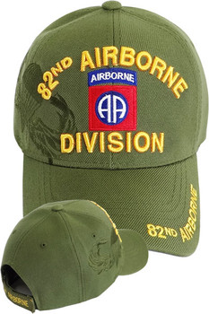 82nd Airborne Division Cap Jump Wings Shadow- Digital Camo