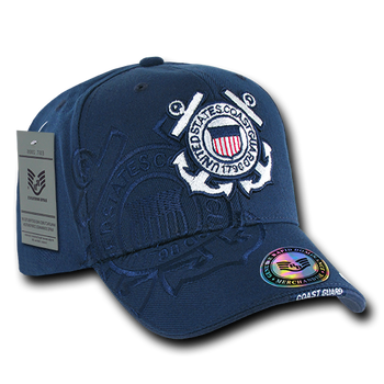 89734352 S007 - Shadow Military Cap - U.S. Coast Guard - Navy