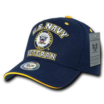 2d5b70428183a Officially Licensed Military Veteran Caps - U.S. Military Hats
