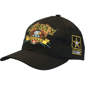 Officially Licensed Military Veteran Caps - U.S. Military Hats 9e273006963d