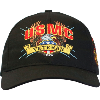 07e33237cbb Officially Licensed Military Veteran Caps - U.S. Military Hats