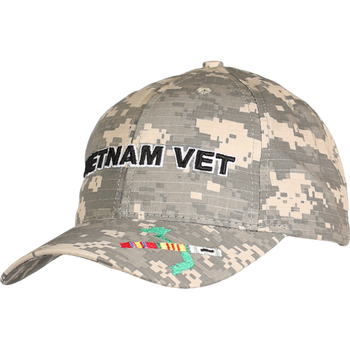 aabb37ccfdd4 Officially Licensed Military Veteran Caps - U.S. Military Hats