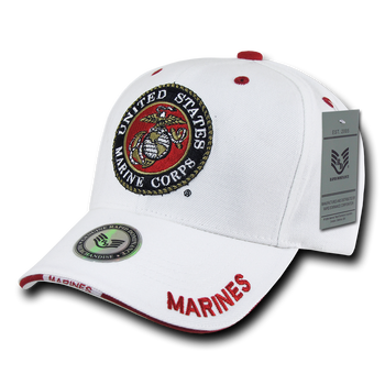 0218b222b48 JWM 04946 Marines Leather Bomber Jacket With USMC Logo
