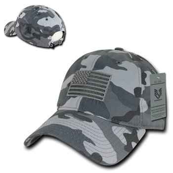 ac8b8420562 A03 - Tactical Operator Cap Tonal US Flag Urban Camouflage Relaxed