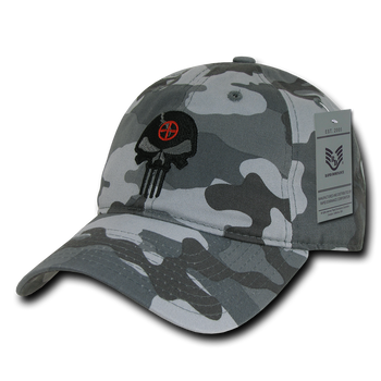 A03 - Punisher Skull Tactical Cap - Relaxed Cotton - Urban Camouflage 38e8b3d420f