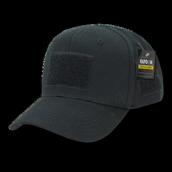 4f81c9911b3aa T75 - Tactical Operator Cap - Structured - Multi-Patch Black
