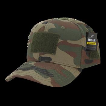 9f596faaf29 T75 - Tactical Operator Cap - Multi-Patch Woodland Camo