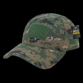 77e375471d78c T78 - Tactical Cap - Low Crown Structured Cotton - Digital Camouflage  Woodland