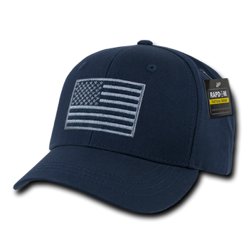 T76 - Tactical Operator Cap - American Flag Subdued - Dark Blue bde38f567cc