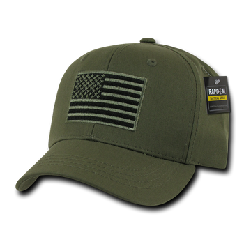 T76 - Tactical Operator Cap - American Flag Subdued - Olive Drab 81ca9956745