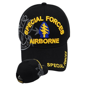 7e7374279a8 Special Forces Airborne Shadow Cap - Black
