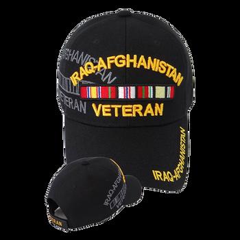 592ed2dc93266 Iraq-Afghanistan Veteran Shadow Cap - Black