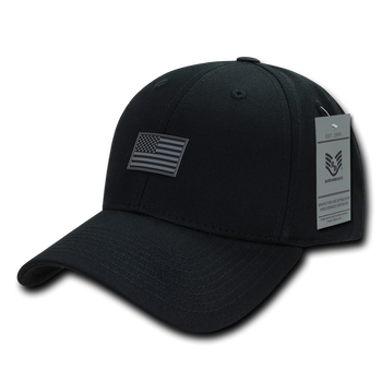 Tirrinia American Flag Baseball Cap United We Stand Unisex Cotton Structured with Ring Buckle Closure