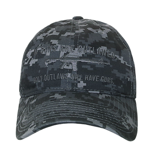 A03 - Outlaw Cap - Relaxed Cotton - Night Blue Digital Camouflage