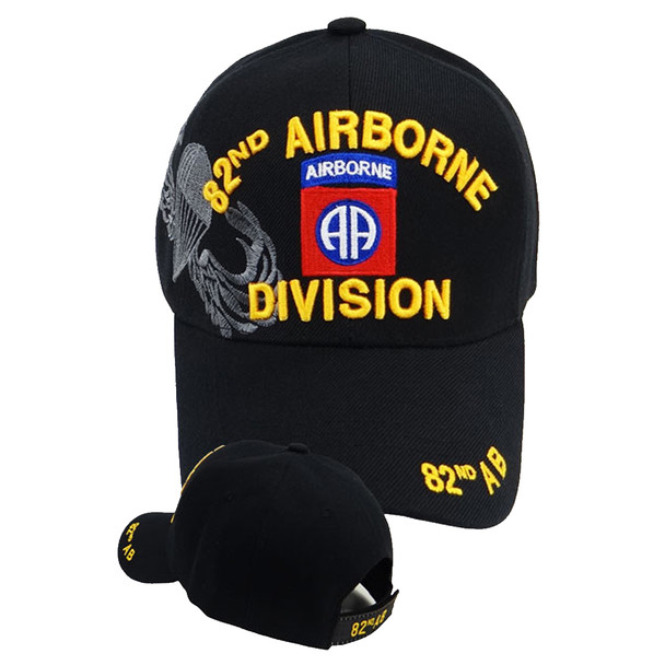 82nd Airborne Shadow Cap - Black