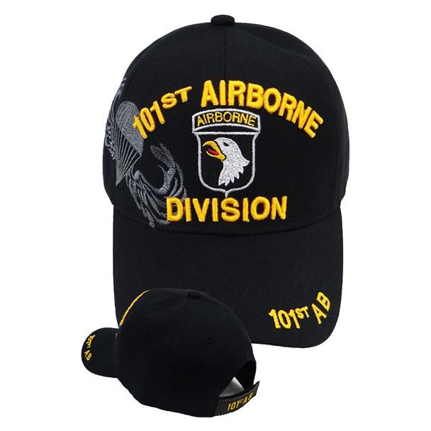 101st Airborne Division Shadow Cap - Black