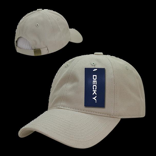 Brushed Cotton Baseball Cap - Stone