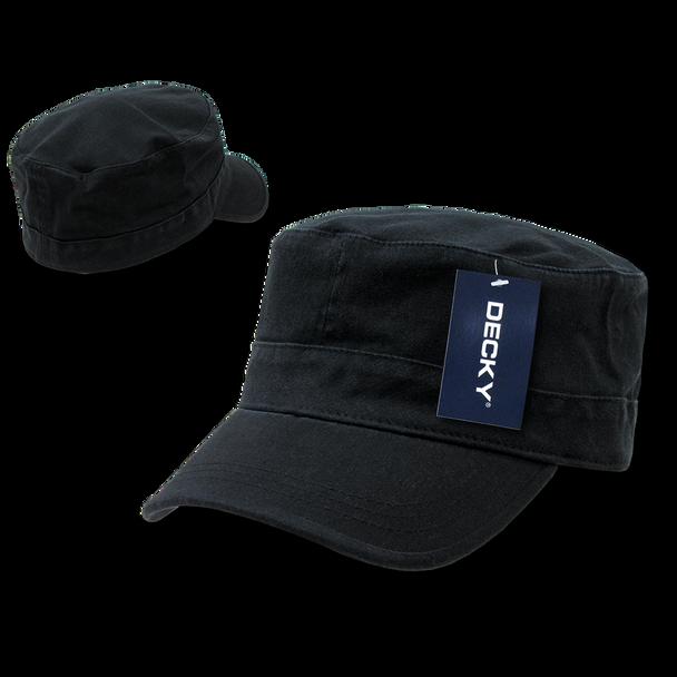Flex Cadet Style Cap - Black