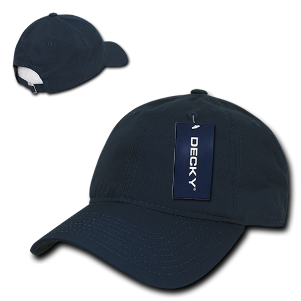 Low Crown Relaxed Ripstop Cap - Navy Blue