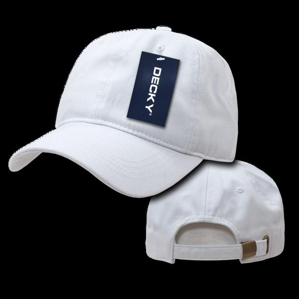 Two-Ply Polo Cap - White - USMILITARYHATS.COM 41f86dfb144b