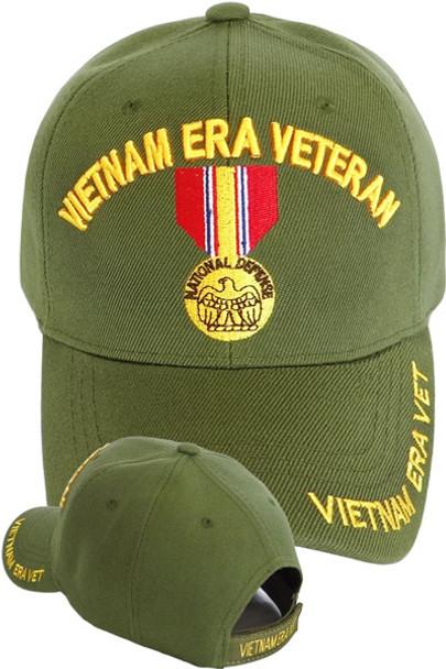 Vietnam Era Veteran Medal Cap - Olive