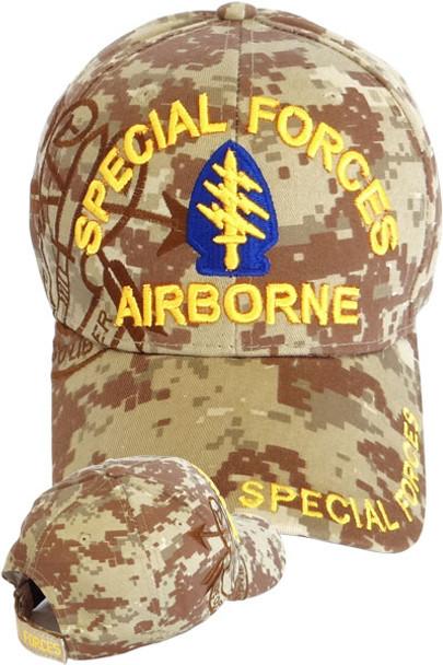 Special Forces Airborne Shadow Cap - Desert Digital Camo