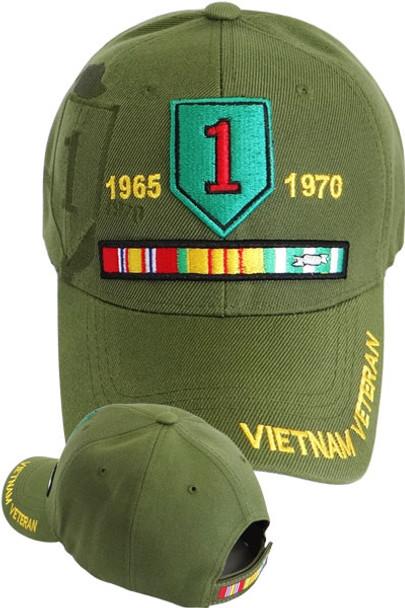 1st Infantry Vietnam Veteran Cap - Olive