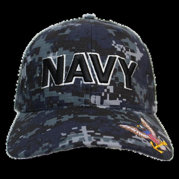 21561 - U.S. Navy Cap - Made in USA - Navy Digital Camo