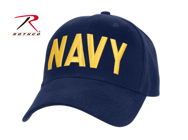 Rothco Navy Supreme Low Profile Insignia Cap (Item #9290)