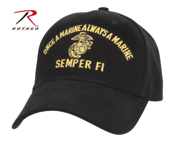 Rothco Marine Semper Fi Low Profile Cap (Item #9293)