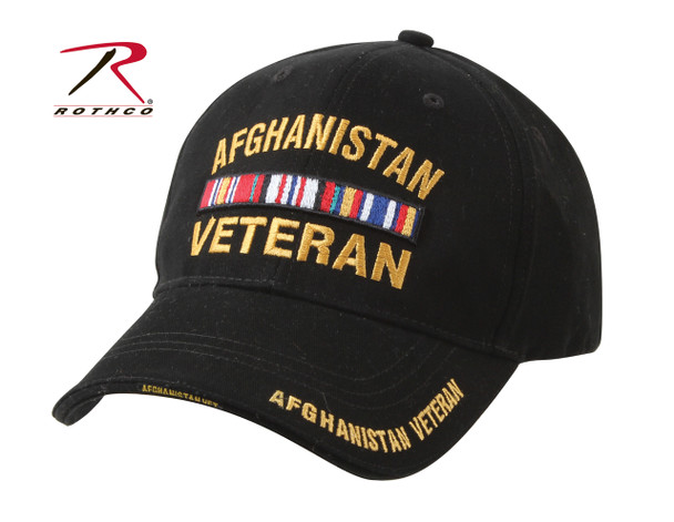 Rothco Deluxe Low Profile Afghanistan Vet Cap (Item #9499)