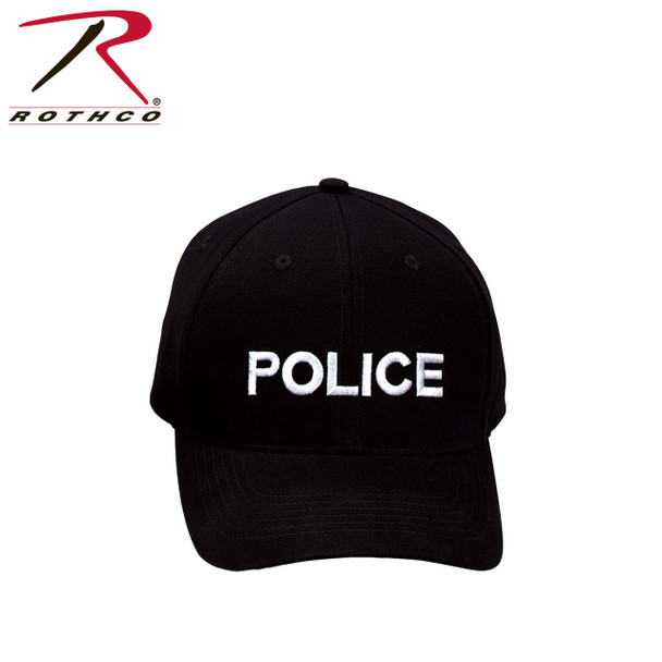 Rothco Police Supreme Low Profile Insignia Cap (Item #9283)