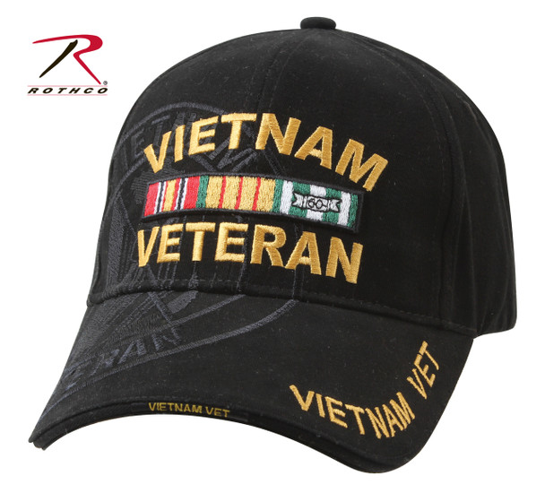 Rothco Deluxe Vietnam Veteran Military Low Profile Shadow Caps (Item #9598)