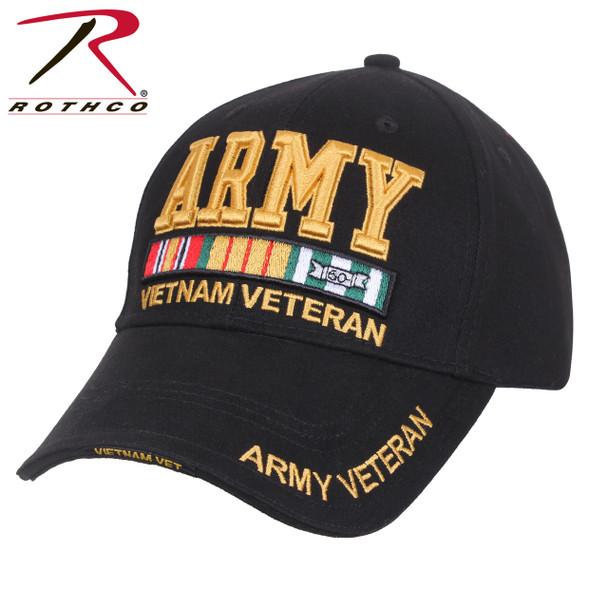 Rothco Army Vietnam Veteran Deluxe Low Pro Cap (Item #3958)