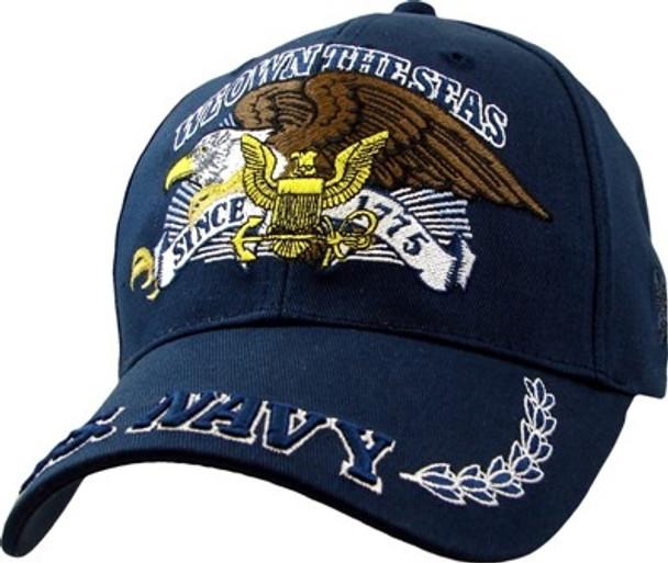 5951 - U.S. Navy We Own The Seas Cap - Dark Navy