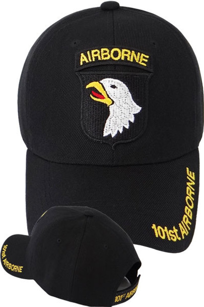 101st Airborne Division Caps - Screaming Eagle - Black 761f3653f1aa