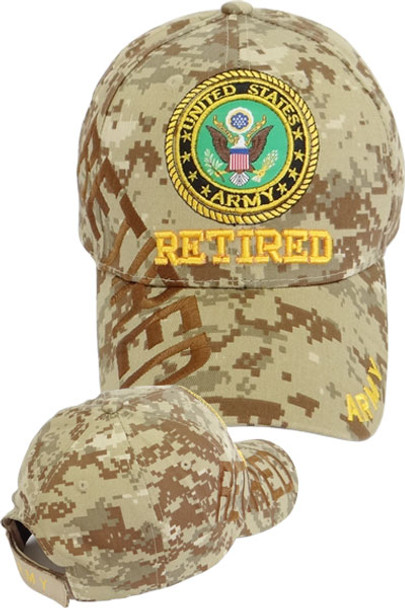 U.S. Army Seal Cap Retired Shadow - Desert Digital Camo - U.S. ... 08a3efee0c7