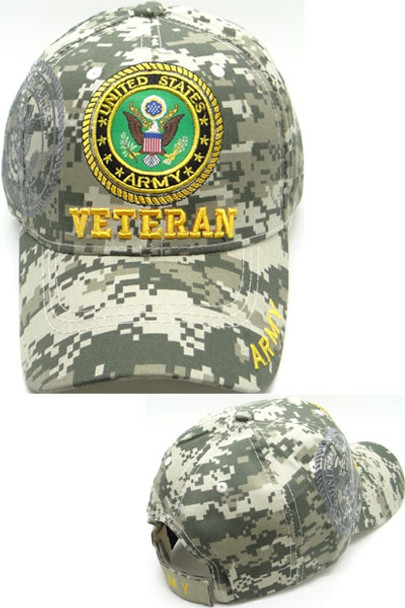 U.S. Army Veteran Cap - Shadow Seal - ACU Digital Camo ... e2e3e162117