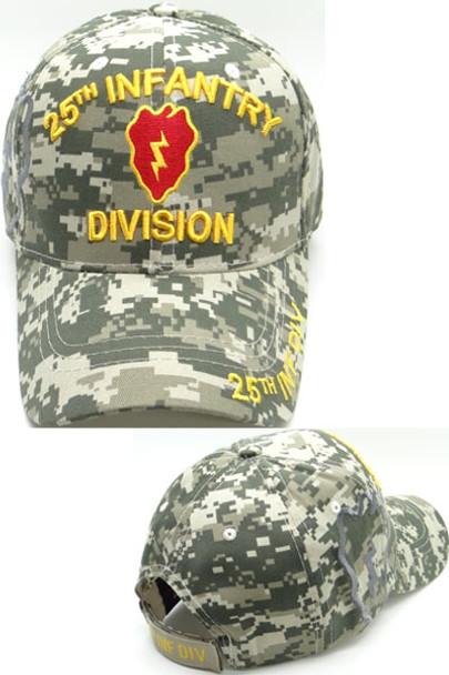8931fca54c8 25th Infantry Division Cap Shadow - ACU Digital Camo ...