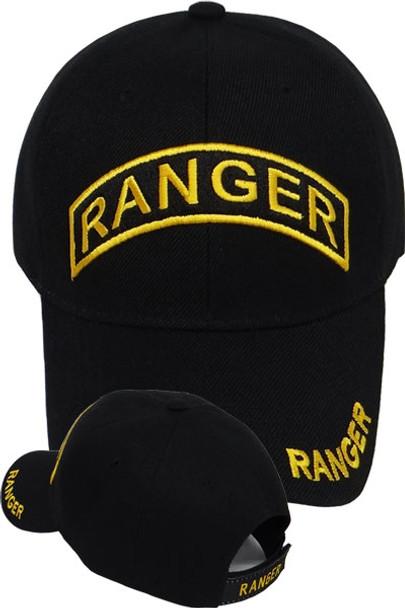 Army Ranger Cap - Black