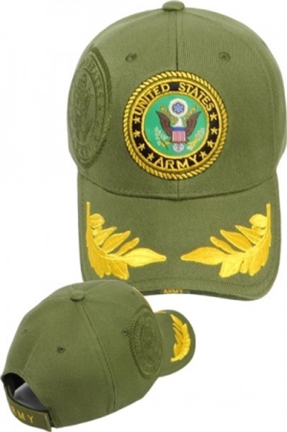 U.S. Army Cap with Eggs - Olive