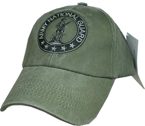 6389 - Army National Guard Cap - Cotton - Olive