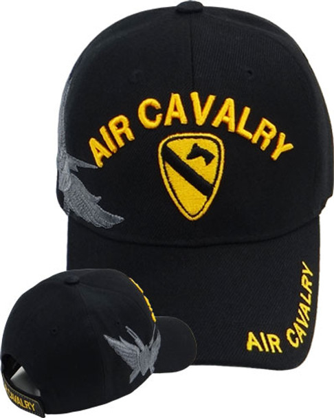 1st Air Cavalry Cap - Black