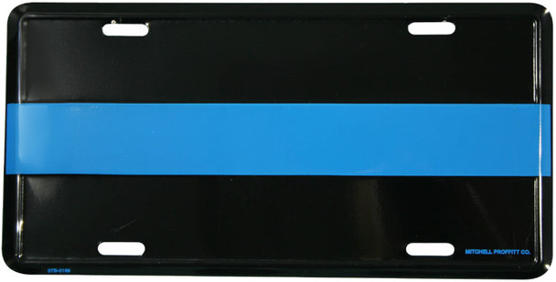 LTBL - Thin Blue Line License Plate - Made in USA