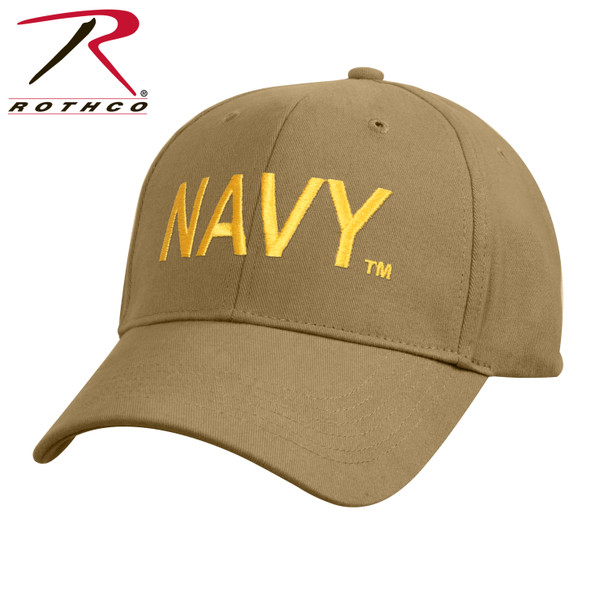 Rothco Navy Cap Low Profile Cotton (Item #3813) - Coyote