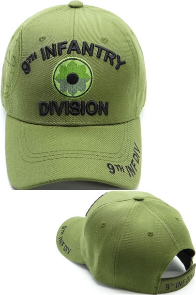 9th Infantry Division Cap Shadow - Olive