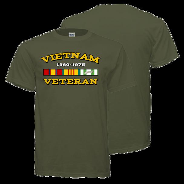 Vietnam Veteran T-Shirt (Olive Drab)